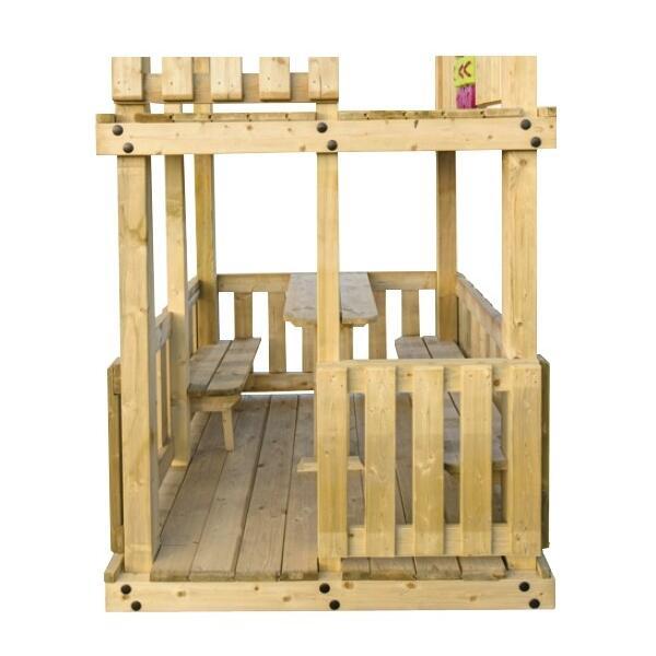 Aanbieding speeltoestel gorilla woodvision speeltoestellen online - Houten toren zwembad ...