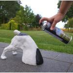 Spray voor waterafstotende polyresin tuinbeelden