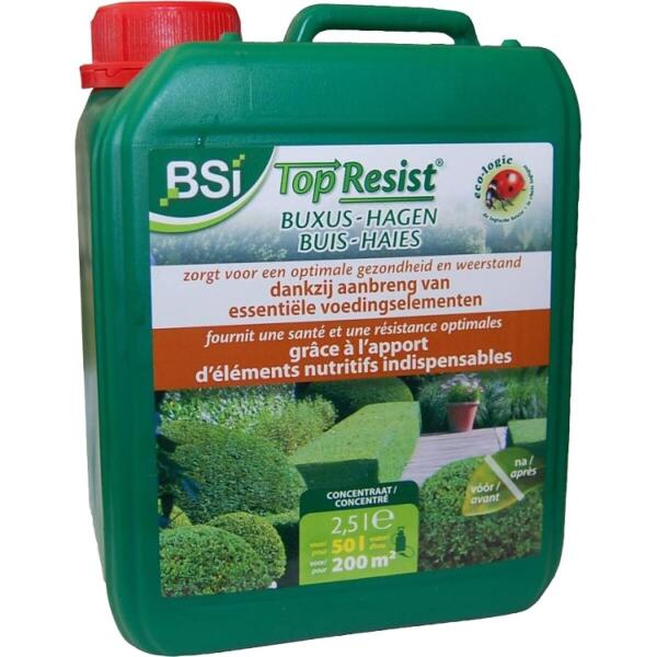 Top Resist - bladvoeding BUXUS 2,5 l