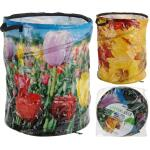 Tuinafvalzak POP-UP lente-en herfstprint - 87 liter