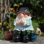 Tuinkabouter Woody de Visser 20 cm