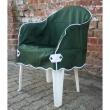 Set van 4 stijlvolle stoelhoezen