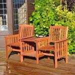 Tweezit met tafel - Love Chair