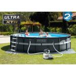 Rond Ultra XTR Frame zwembad compleet Intex Ø 549 x 132 cm