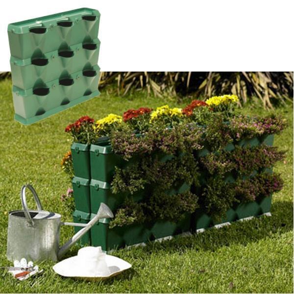 Verticale minituin kopen groenwand installeren for Verticale tuin systeem