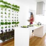 Plantbakken verticale tuin groen - modulair