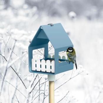 vogels voederen in de winter