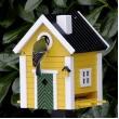 Vogelhuis + voederhuis