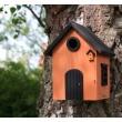 Vogelhuisje oranje