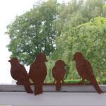 Vogels op een rij - decoroest