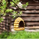Vogelvoederhuis bijenkorf