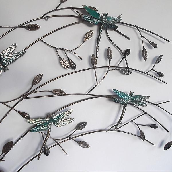 wanddecoratie takken met libellen kopen wanddecoratie