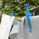 Wasknijpers stormbestendig - blauw