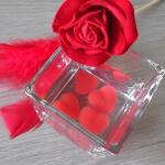 Watergel rode harten