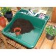 Werkschaal compact - kunststof groen