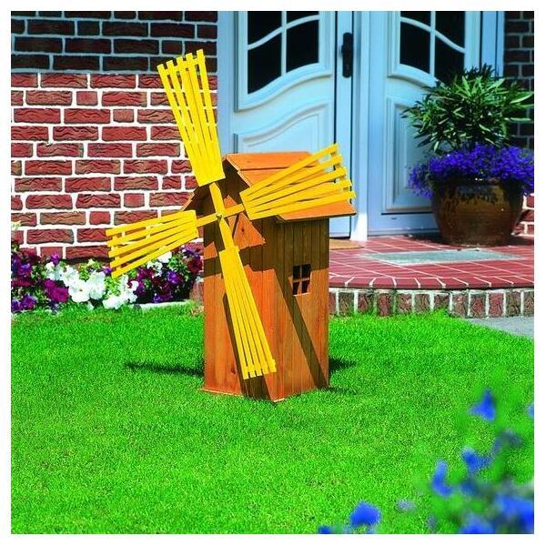 houten windmolen met gele wieken kopen een windmolen in