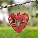Windspinner rood hart