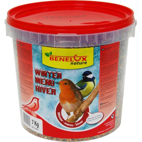 Wintermix tuinvogels in emmer - 7 kg