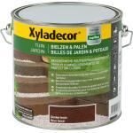 Xyladecor Bielzen & Palen, donkerbruin - 2,5 l