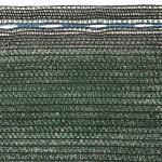 Windbreeknet donkergroen - 1,5 x 10 m