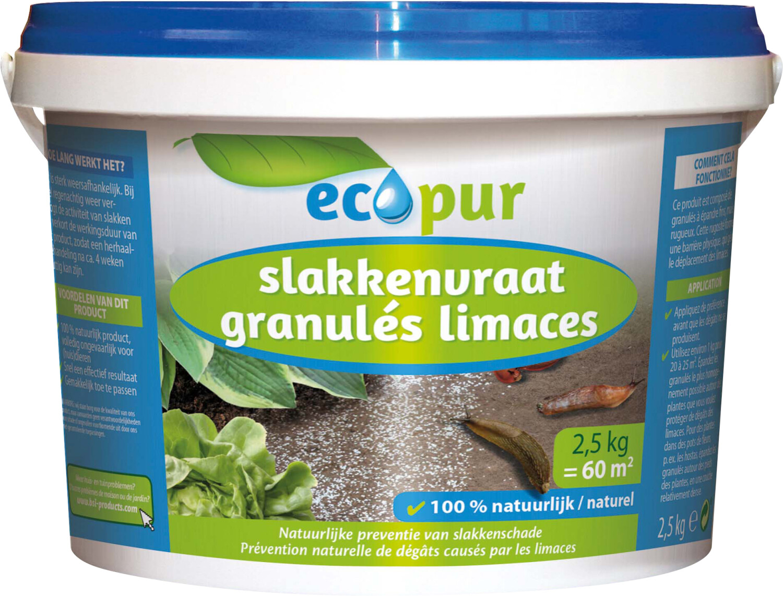 Strooikorrels tegen Slakkenvraat 25 kgEcokuur