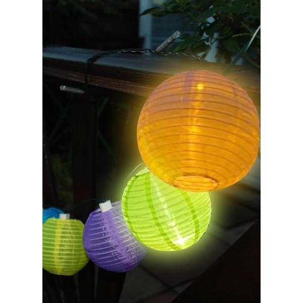 Slinger 10 Chinese lampions op zonneenergie