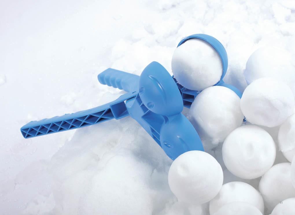 Sneeuwbalmaker dubbel
