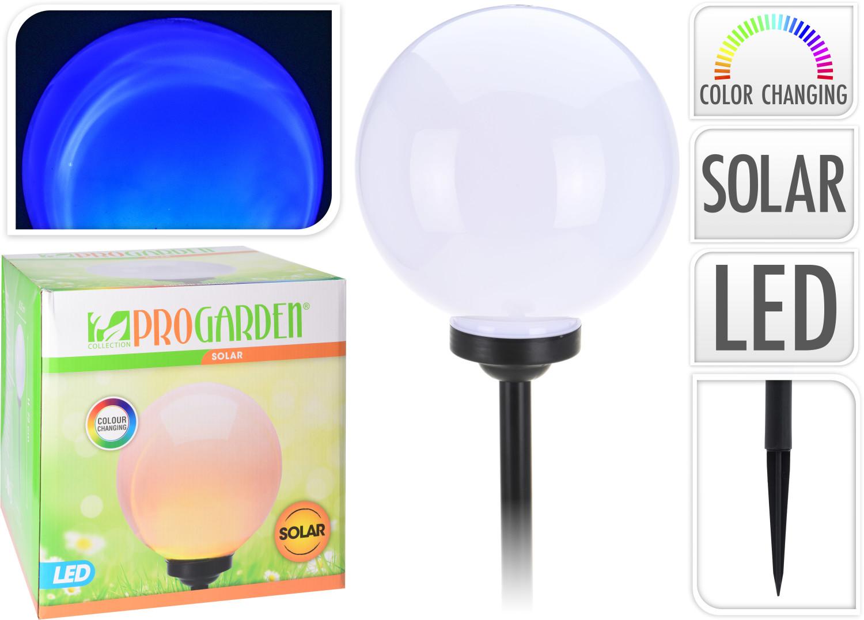 Solarbal gekleurd licht 30 cm