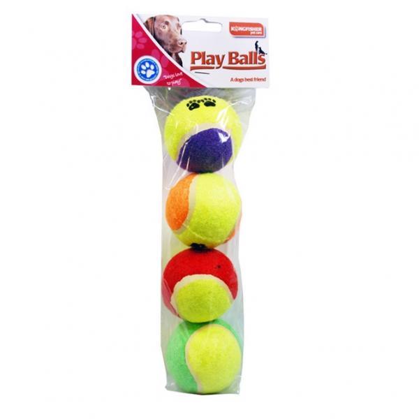 Speelballen voor de hond
