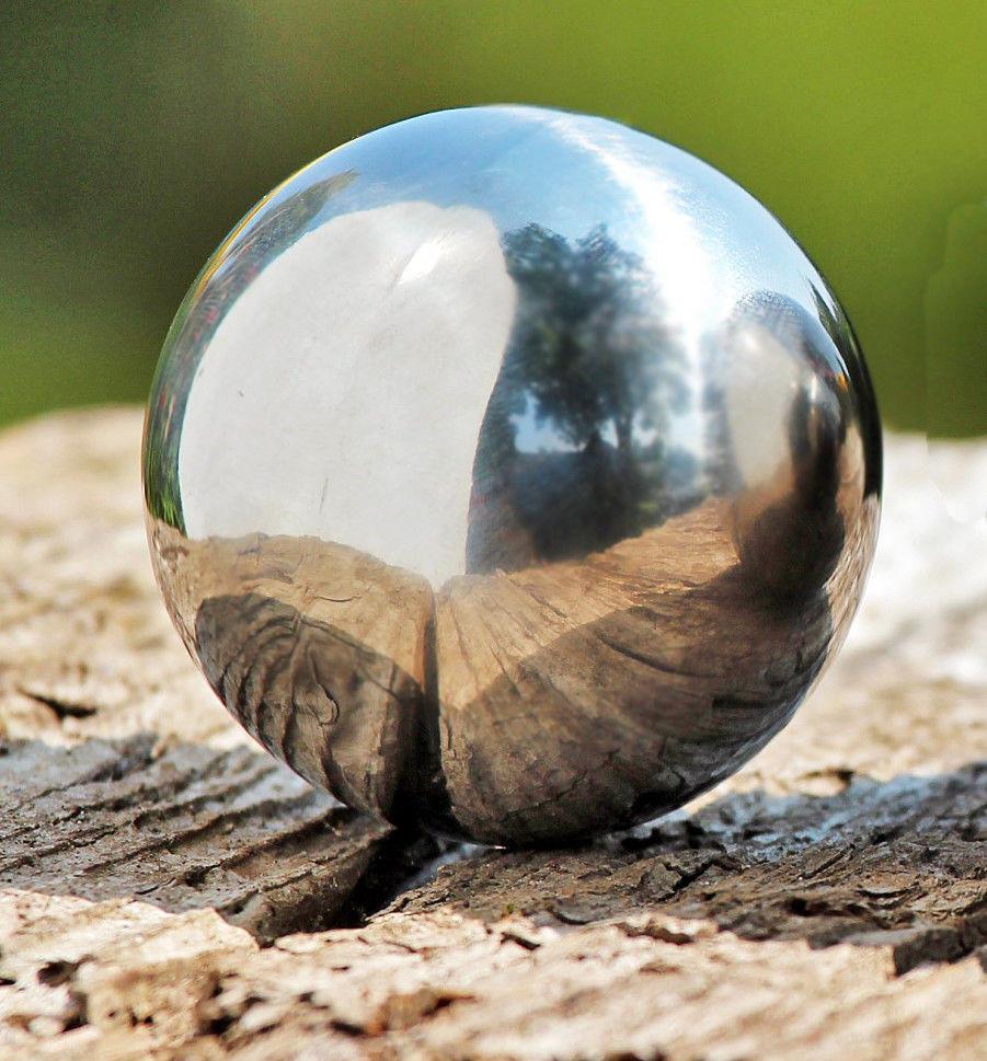 Spiegelbol inox 65 cm