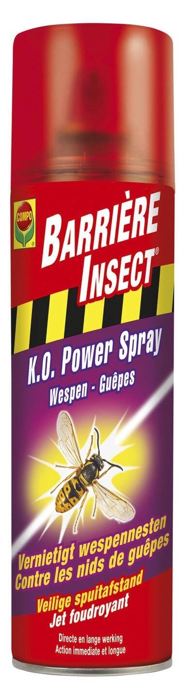 Spray tegen wespenKO Power spray 500 ml