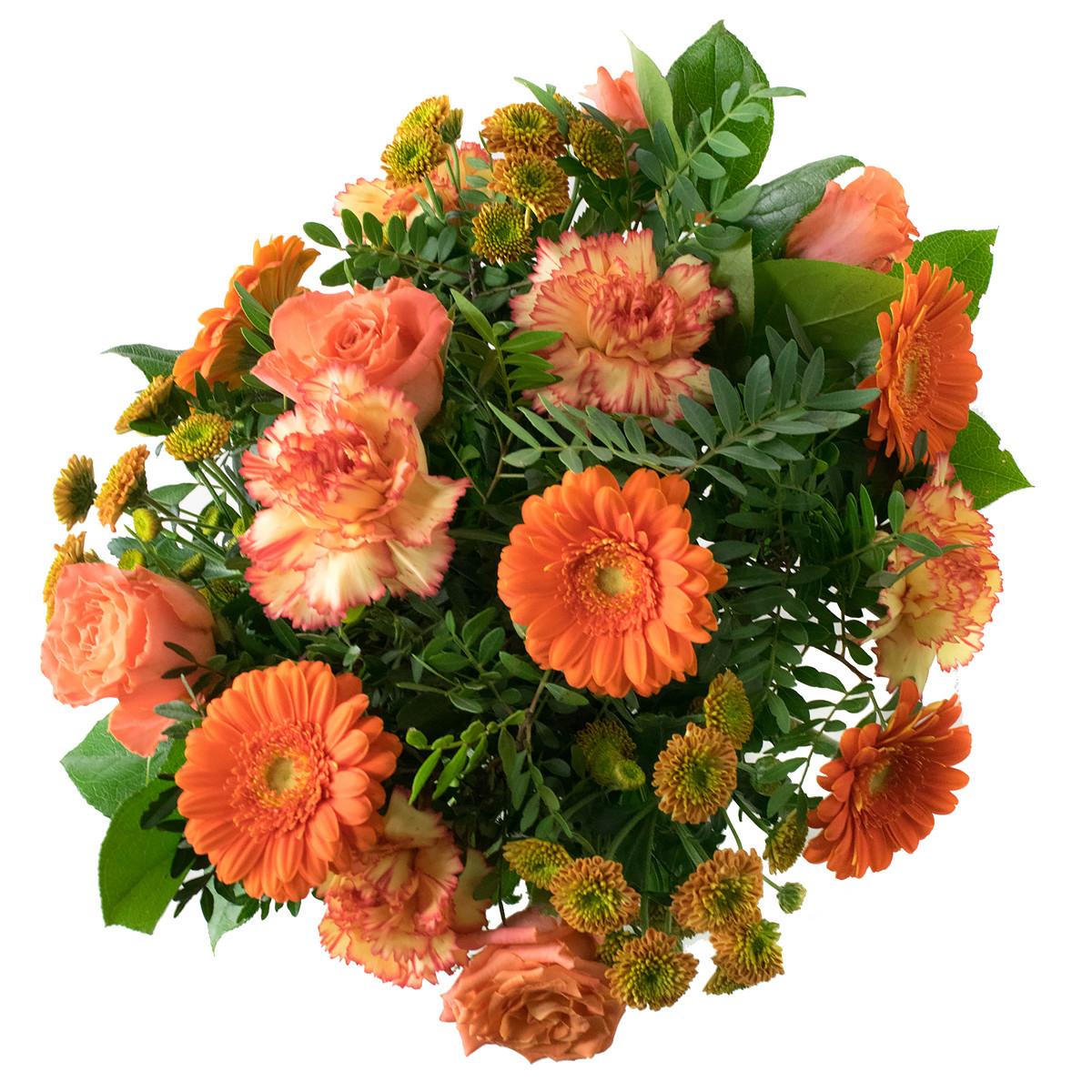 Boeket Springtime Orangeoranje