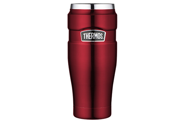 Thermos KING isoleerbeker rood 470 ml
