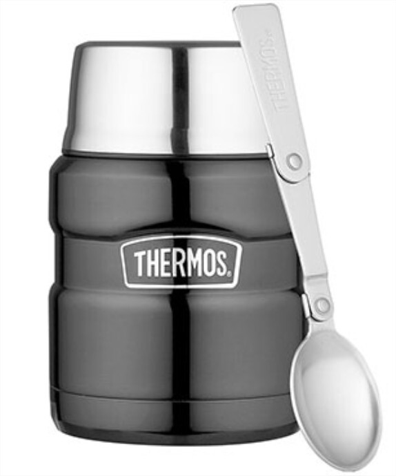Thermos KING voedseldrager Space grijs 470 ml