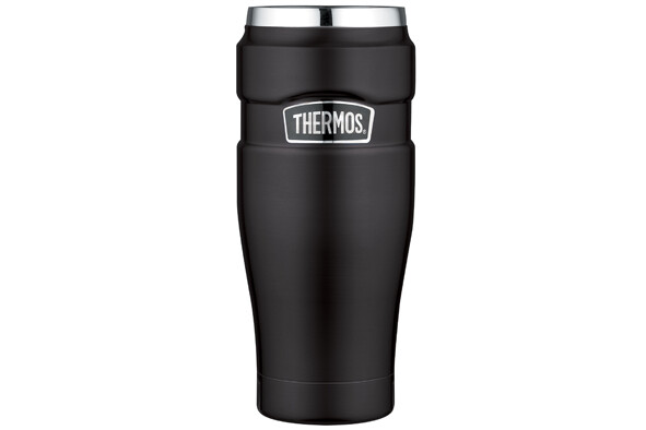 Thermos KING isoleerbeker zwart 470 ml