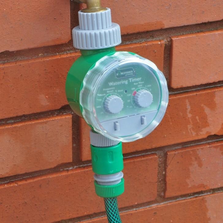 Tijdsklok voor waterdarm