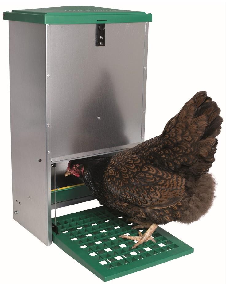 Trapbak voor kippen20 kg