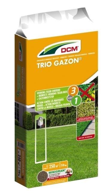 Triogazon DCM 10 kgdrievoudige werking
