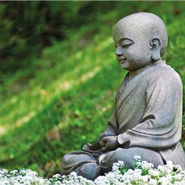 Tuinposter Boeddha 1 x 1 m