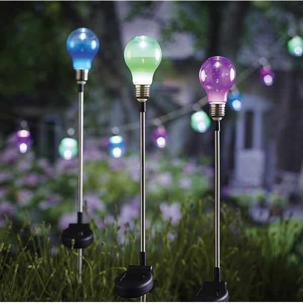 Lampen met grondpin solar