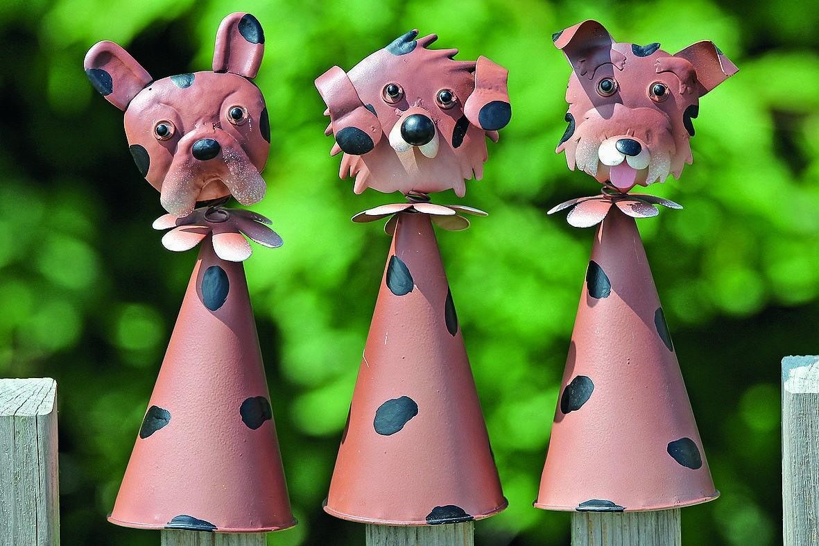 Hondendecoratie met wiebelkop