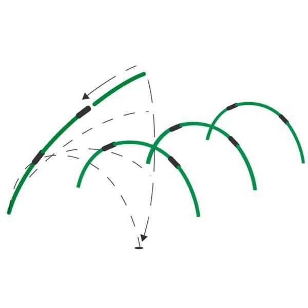 Tunnelbogen PVC