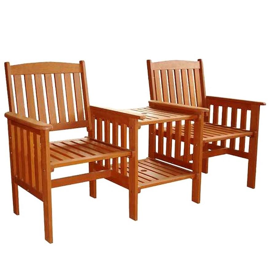 Tweezit met tafelLove Chair