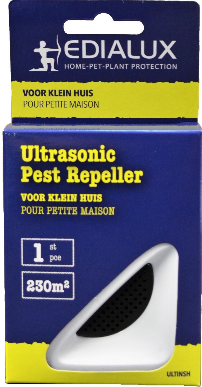 Ultrasone verjager tegen muizen en kruipende insecten