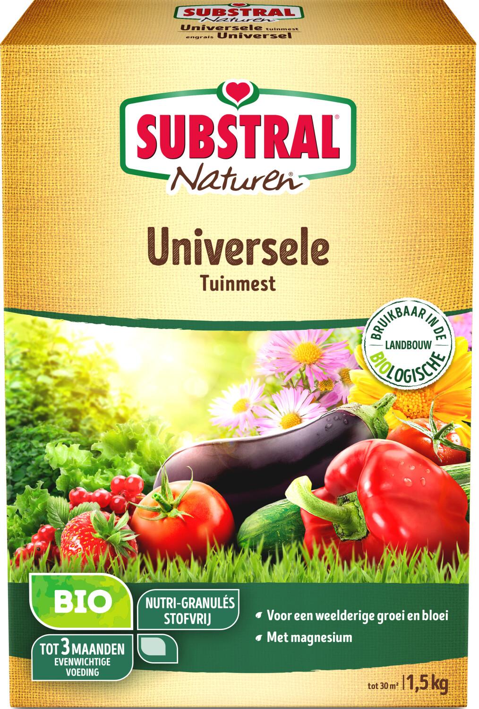 Naturen universele tuinmest1500 gram