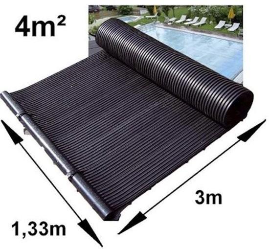 Verwarmingsmat op zonneenergie 4 m2