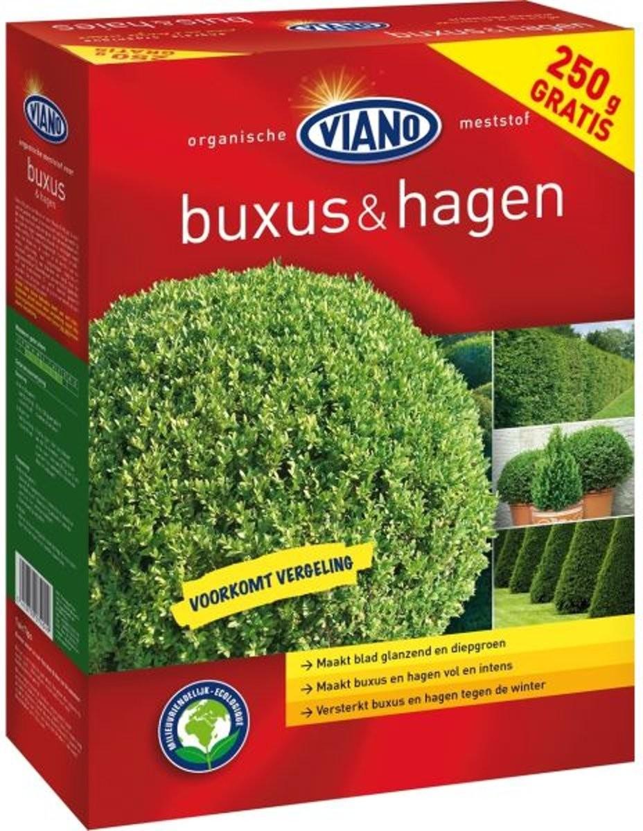 Viano tuinmeststof voor Buxushagen 15 kg250 g GRATIS