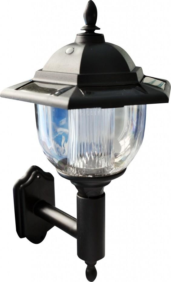 Victoriaanse wandlamp op zonneenergie