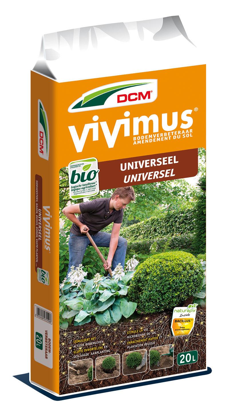 Vivimus Universeel als organische bodemverbeteraar 20 liter