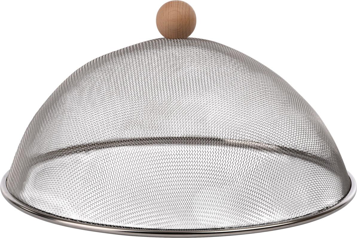 Vliegenkap roestvrij staal 30 cm